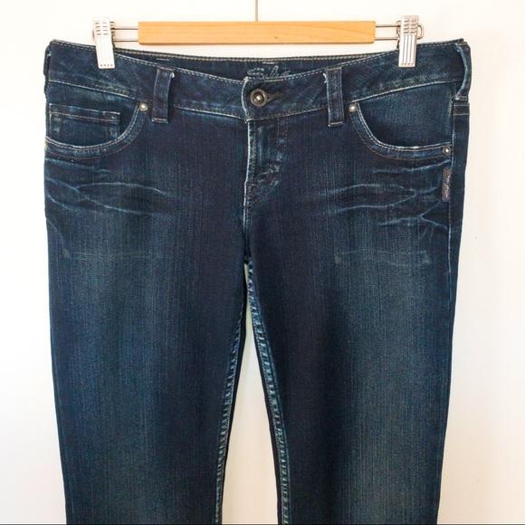 Silver Women Size 30x33 Jeans Pioneer Boot Cut
